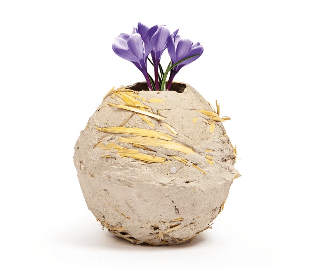 Raw Earth Vase